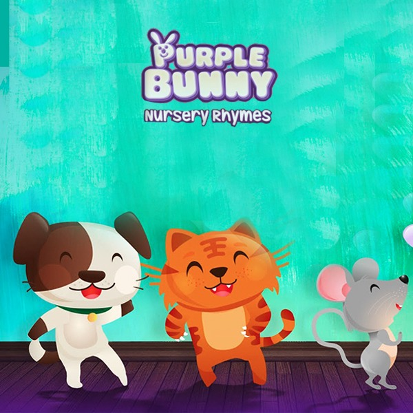 purple bunny nursery rhymes